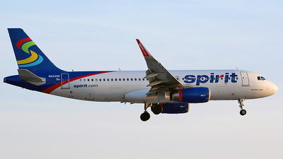 N622NK - Airbus A320-232 - Spirit Airlines