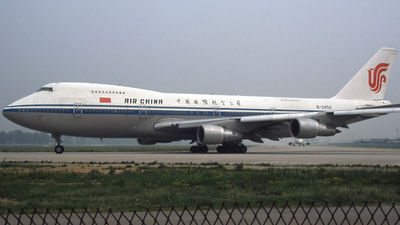 B-2450 - Boeing 747-2J6B - Air China