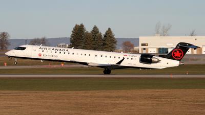 A picture of CGPJZ - Mitsubishi CRJ900LR - Air Canada - © Daniel Lapierre Forget