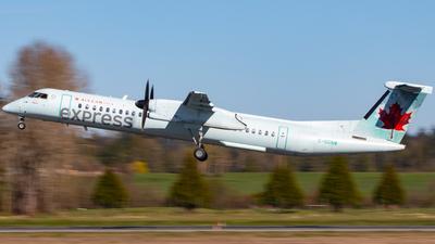 A picture of CGGNW - De Havilland Canada Dash 8400 - Air Canada - © CJMAviation