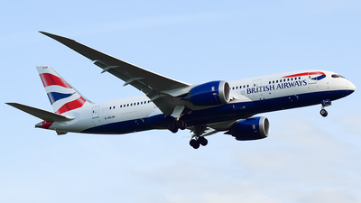 G-ZBJM - Boeing 787-8 Dreamliner - British Airways