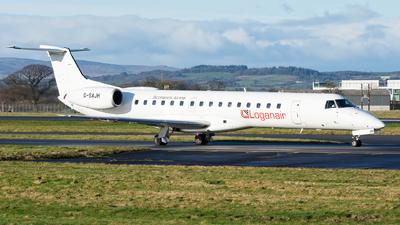 G-SAJH - Embraer ERJ-145EU - Loganair