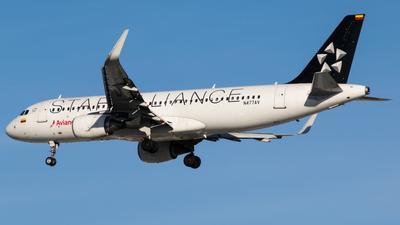 N477AV - Airbus A320-214 - Avianca