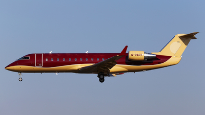 G-RADY - Bombardier CL-600-2B19 Challenger 850 - TAG Aviation