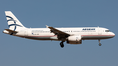 A picture of SXDGE - Airbus A320232 - Aegean Airlines - © Sebastian Sowa