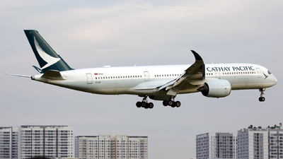 A picture of BLRX - Airbus A350941 - Cathay Pacific - © Thanh Ho - SFAP