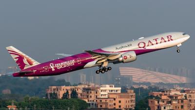 A7-BEC - Boeing 777-3DZER - Qatar Airways