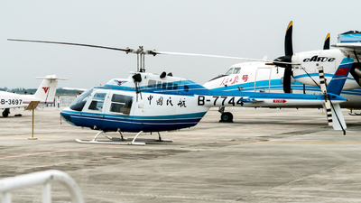 B-7744 - Bell 206B JetRanger - Civil Aviation Administration of China (CAAC)