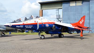 XW175 - Hawker Siddeley Harrier T.4N - United Kingdom - Royal Air Force (RAF)