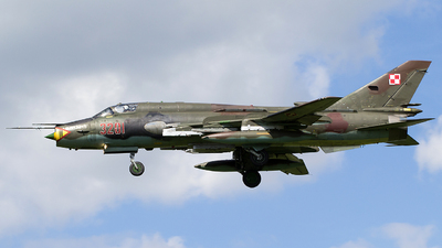 3201 - Sukhoi Su-22M4 Fitter K - Poland - Air Force