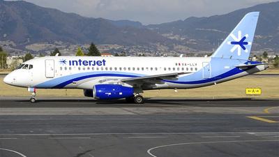 XA-LLV - Sukhoi Superjet 100-95B - Interjet