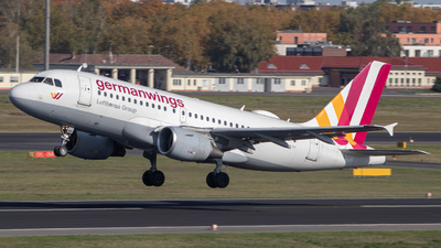 A picture of DAKNH - Airbus A319112 - Germanwings - © Andrei Kurach