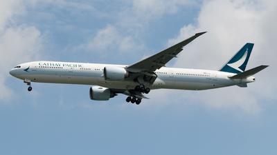 B-KQR - Boeing 777-367ER - Cathay Pacific Airways
