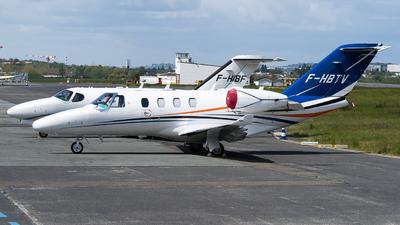 F-HBTV - Cessna 525 CitationJet M2 - Private