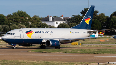 A picture of GJMCP - Boeing 7373T0(SF) - West Atlantic UK - © Thomas Masterman