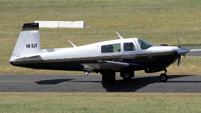 VH-SJT - Mooney M20J-201 - Private