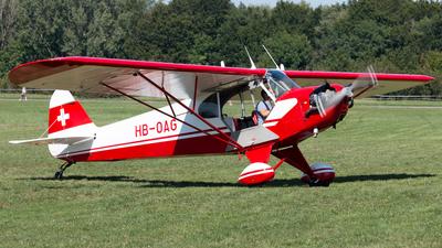 A picture of HBOAG - Piper J3C65 Cub - [12847] - © Alexandre Faroux