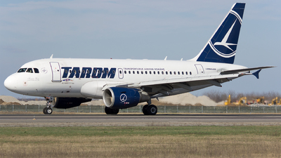 YR-ASB - Airbus A318-111 - Tarom - Romanian Air Transport