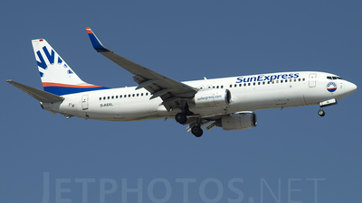 D-ASXL - Boeing 737-8EH - SunExpress Germany