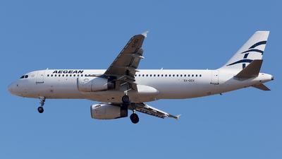 SX-DGX - Airbus A320-232 - Aegean Airlines