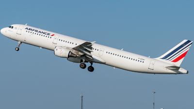 F-GTAY - Airbus A321-212 - Air France