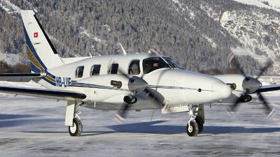 A picture of HBLUF - Piper PA31T Cheyenne - [31T8120015] - © Alex