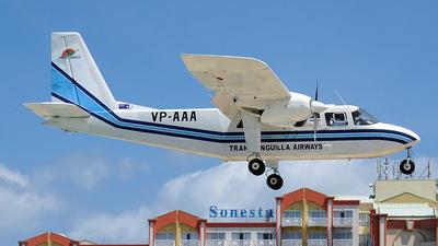 VP-AAA - Britten-Norman BN-2A-21 Islander - Trans Anguilla Airways