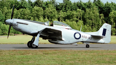 G-HAEC - Commonwealth CA-18 Mustang 22 - Private