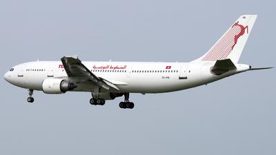 TS-IPB - Airbus A300B4-605R - Tunisair