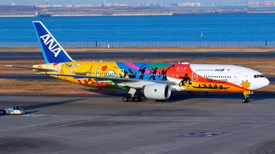 JA741A - Boeing 777-281(ER) - All Nippon Airways (ANA)