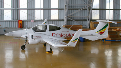 ET-APG - Diamond DA-42 Twin Star - Ethiopian Airlines