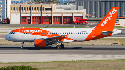 A picture of GEZBC - Airbus A319111 - easyJet - © Rui Marques