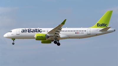 YL-AAS - Airbus A220-300 - Air Baltic
