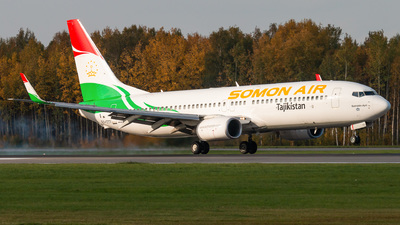 A picture of EY777 - Boeing 7378GJ - Somon Air - © KomradAlexey