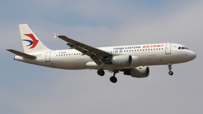 A picture of B6805 - Airbus A320214 - China Eastern Airlines - © Aircraft carrier FX
