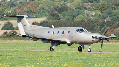 LX-JFE - Pilatus PC-12/47E - Jetfly Aviation