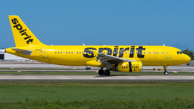 A picture of N614NK - Airbus A320232 - Spirit Airlines - © Hector Rivera-HR Planespotter