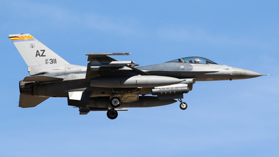 87-0311 - Lockheed Martin F-16C Fighting Falcon - United States - US Air Force (USAF)