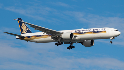 A picture of 9VSWT - Boeing 777312(ER) - Singapore Airlines - © Ewen Chang