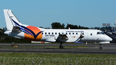 VH-VNA - Saab 340B - Vincent Aviation