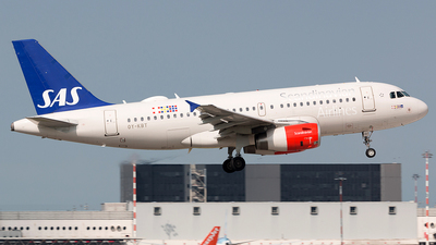 A picture of OYKBT - Airbus A319131 - SAS - © FUMAGALLI ANDREA