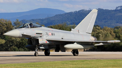 7L-WH - Eurofighter Typhoon EF2000 - Austria - Air Force