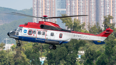 B-7962 - Eurocopter AS 332L Super Puma - China Offshore Helicopter Service Corporation (COHC)