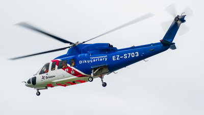 EZ-S703 - Sikorsky S-76C - Bristow Helicopters