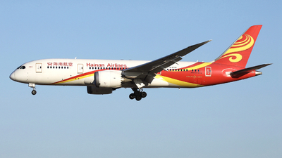 A picture of B2730 - Boeing 7878 Dreamliner - Hainan Airlines - © LANG