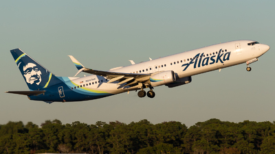A picture of N247AK - Boeing 737990(ER) - Alaska Airlines - © Positive Rate Photography