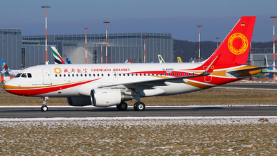 D-AVWY - Airbus A319-115 - Chengdu Airlines