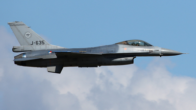 J-635 - General Dynamics F-16A Fighting Falcon - Netherlands - Royal Air Force