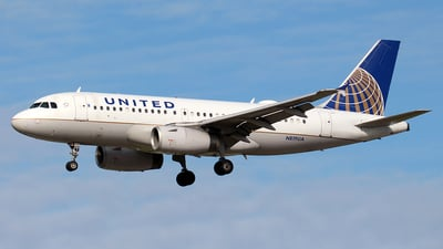 N819UA - Airbus A319-131 - United Airlines