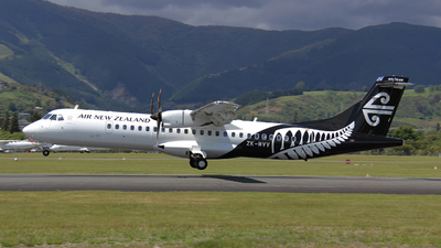 ZK-MVV - ATR 72-212A(600) - Air New Zealand Link (Mount Cook Airline)